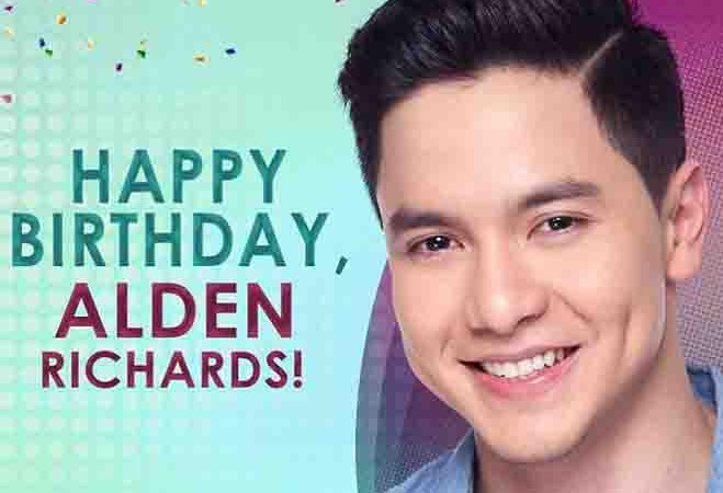 Happy 26th Birthday Alden Richards