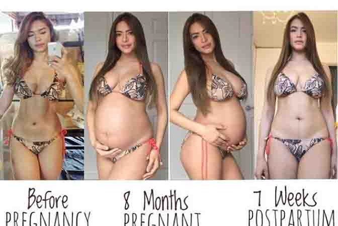 How to be sexy after giving birth