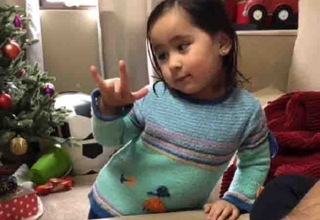 WATCH:  Scarlet Snow acts out different emotions