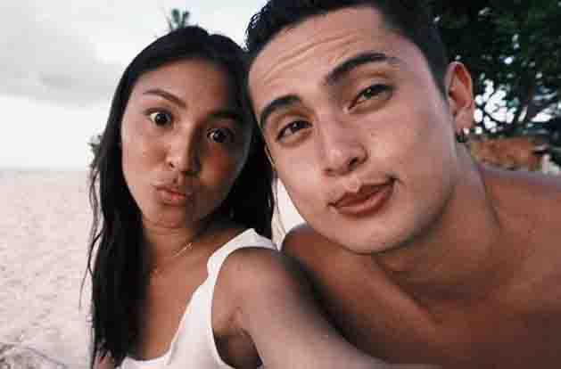 James Reid and Nadine Lustre show their 'dedma' look for haters