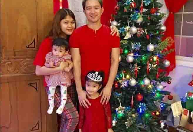 Melai and Jason spend Christmas in new home