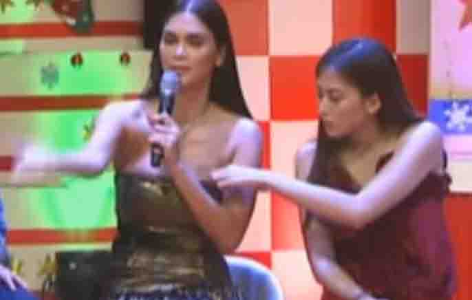 "Alex Gonzaga on poking Pia Wurtzbach: ""This is not on national TV"""