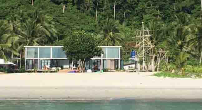 INSTA PIC:  Vacation house of Derek Ramsay in Palawan