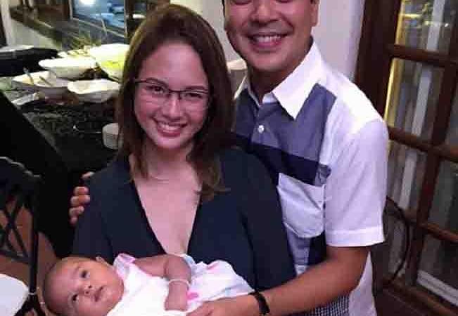 INSTA PIC:  John Lloyd, Ellen and a baby