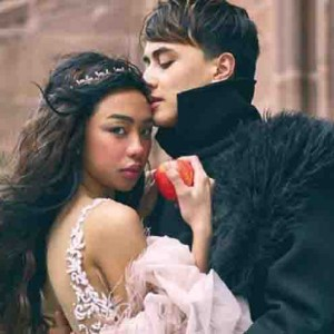 Maymay Entrata receives a pendant on Valentine's Day