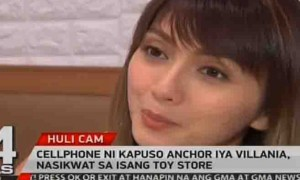 WATCH:  Iya Villania's mobile phone stolen at a toy store