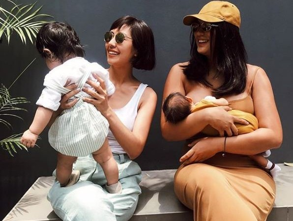 Isabelle Daza shares photo of her bonding moment with Liz Uy and their babies