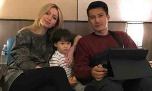 "Netizen to Michela Cazzola:  ""Why don't you tell James to provide for Bimby's needs"""