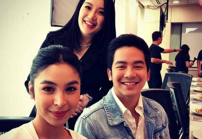 Kris Aquino shares first taping day moments with Julia Barretto and Joshua Garcia