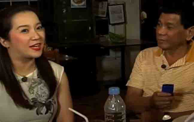 "Malacañang to Kris Aquino: ""Welcome on board"""