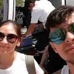 WATCH:  Sarah Geronimo returns to Manila from Palawan in style, via chopper