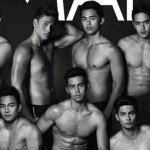 Male stars of ABS-CBN and GMA together on the cover of magazine