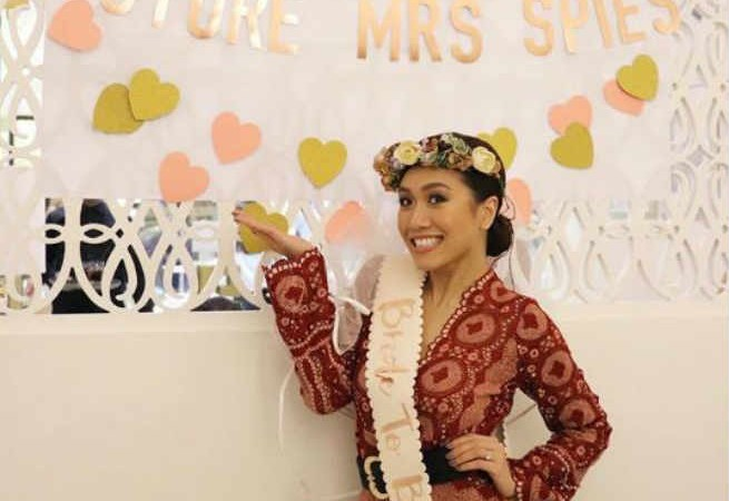 Future Mrs. Spies Rachelle Ann Go holds bachelorette party