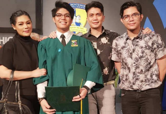 Vhong Navarro and Bianca Lapus reunite in their son's graduation