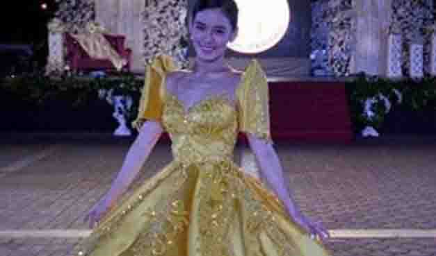 'Ate Girl' Jackque Gonzaga wows netizens with her princess-like ball gown