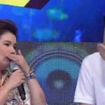 """Ryan Bang accidentally hits Amy Perez's teeth with mic on """"It's Showtime"""""""