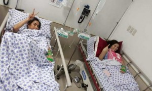 Barbie Imperial and Jai Agpangan rushed in the hospital