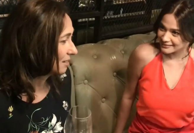 Cherie Gil re-enacts 'Bituing Walang Ningning' wine scene with Bea Alonzo