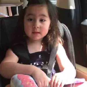 WATCH: Scarlet Snow Belo sings a song for OFWs