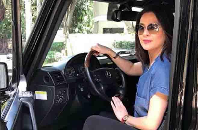 Dawn Zulueta drives multi-million peso luxury cars