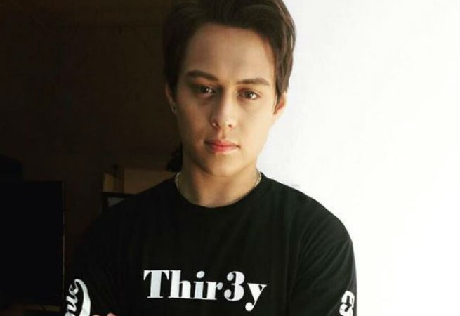 Enrique Gil captures videos of wild forest fire in Tanay