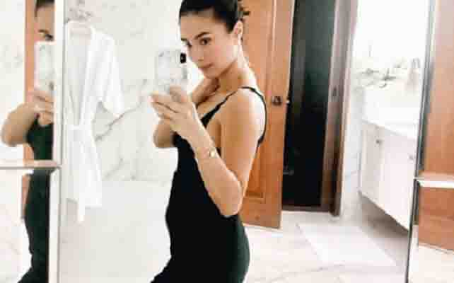 INSTA PIC:  Heart Evangelista shows off baby bump