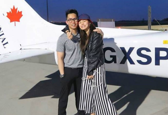Proud sister Kim Chiu shares first airplane ride with her pilot brother
