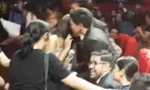 WATCH:  Alden Richards greets Liza Soberano with a 'beso' goes viral