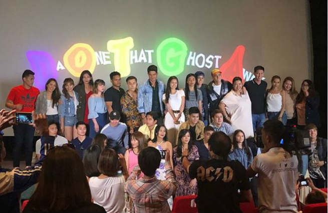 PBB housemates from all seasons reunite to support 'Da One That Ghost Away'