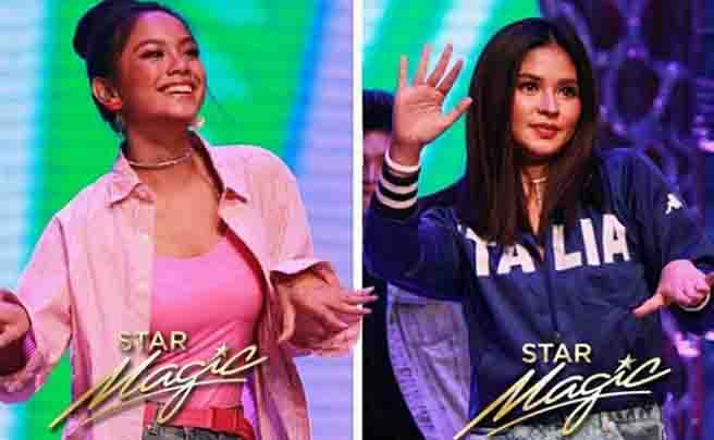 WATCH:  Loisa Andalio talks to Ylona Garcia in English with confidence