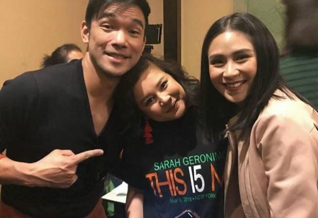 Aiza Marquez reunites with 'Sarah the Teen Princess' co-stars Sarah Geronimo and Mark Bautista after 13 years