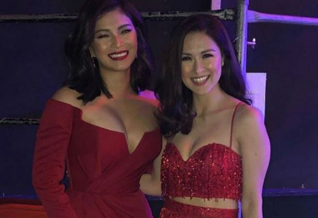 Darnas Angel Locsin and Marian Rivera slay on the same stage together