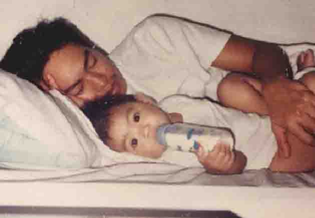 Nadine Lustre shares adorable throwback baby photo with her dad