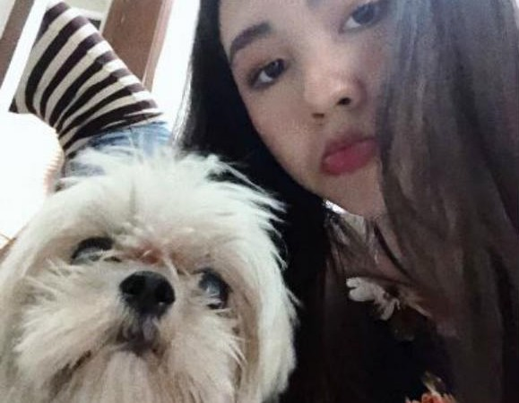Janella Salvador temporarily adopts lost dog she found soaking wet on the street