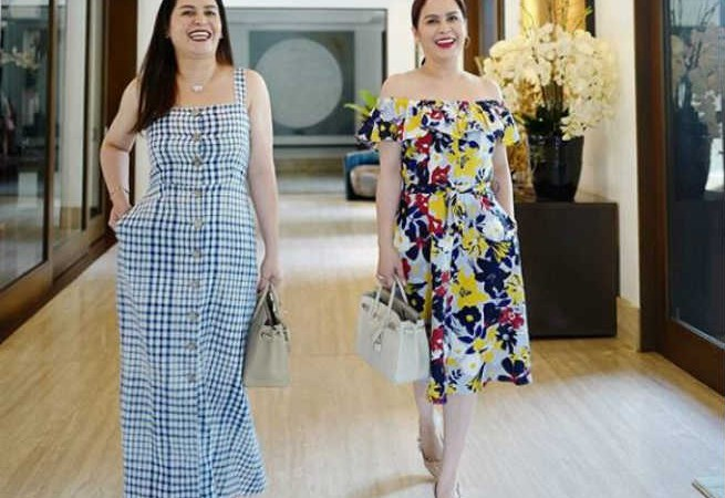 Jinkee Pacquiao posts glamorous #SisterGoals photos with her twin Janet