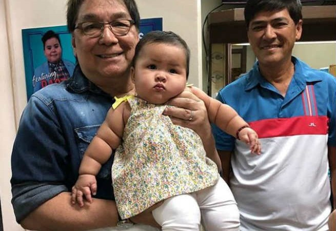 Joey De Leon introduces the cutest proxy for Tito Sotto in TVJ