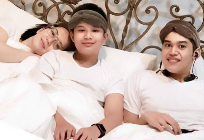 Kris Aquino shares throwback photo with Josh and Bimby