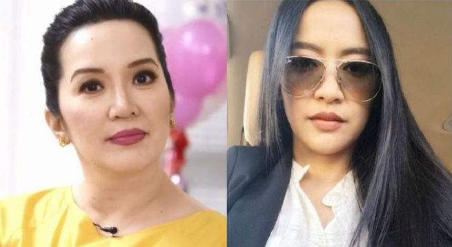 Kris Aquino challenges Mocha Uson to re-enact 'Four Sisters And A Wedding' hair-pulling scene