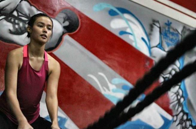Liza Soberano shares photos of her training for 'Darna'
