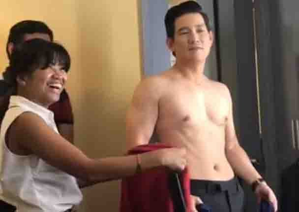 WATCH:  At 51. Richard Yap shows off fit and healthy body