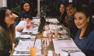 KC Concepcion reunites with Sharon Cuneta and family