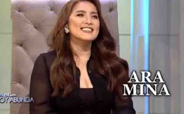 Ara Mina denies alleged affair with a government official