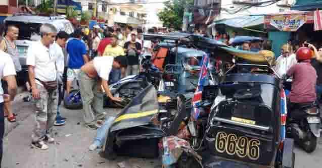 NewsBreak:  8 injured in Makati accident as SUV rams into 8 vehicles