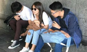 Darren Espanto bonds with Daniel Padilla and his 'ultimate crush' Kathryn Bernardo