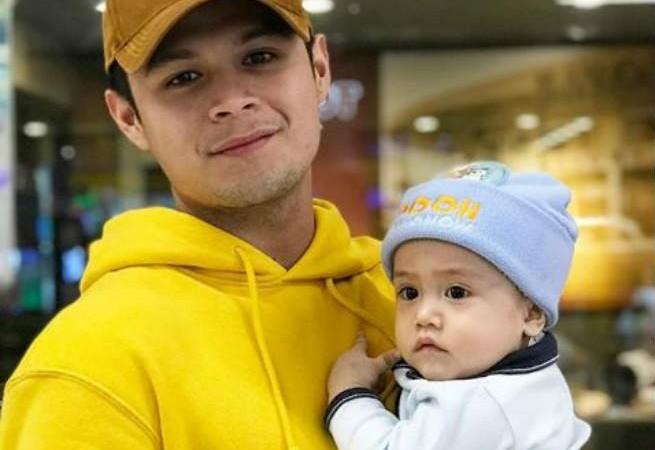Hashtag Jon Lucas shares adorable photos with his baby