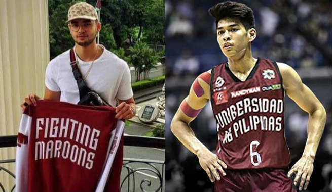 Kobe Paras and Ricci Rivero set to play as teammates for UP Fighting Maroons