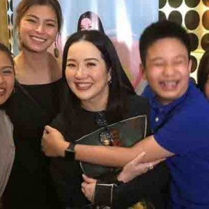 Angel Locsin and Kim Chiu show love and support to Kris Aquino