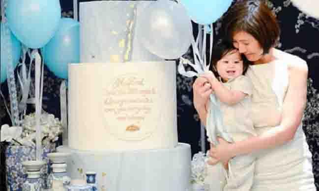 Liz Uy's Baby Xavi gets stylish baptism