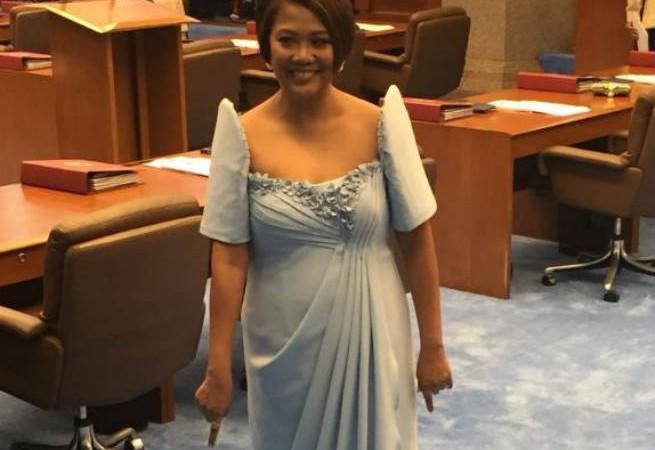 "Senator Nancy Binay on her SONA 2018 look: ""Nagma-match ako sa carpet."""