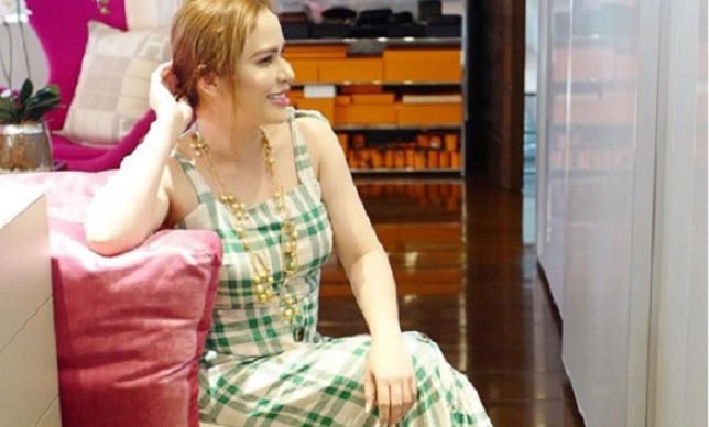 Sneak Peek:  Jinkee Pacquiao trendy walk-in closet